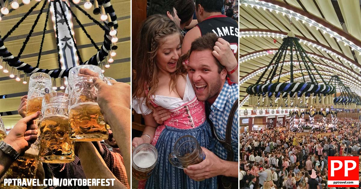 Fun at the Oktoberfest