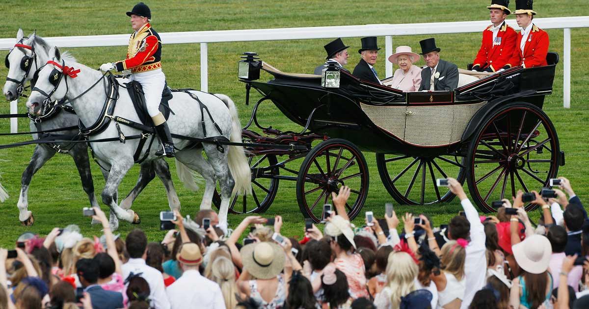 Royal Ascots Royal Procession