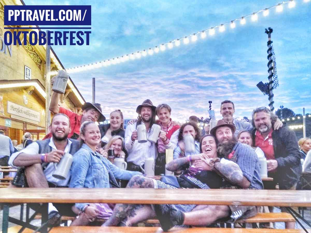 PP Travel Crew at the Oktoberfest Olde Wiesen 2019