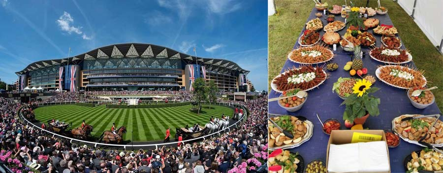 Great times at Royal Ascot with Kiwis in London and PP Travel