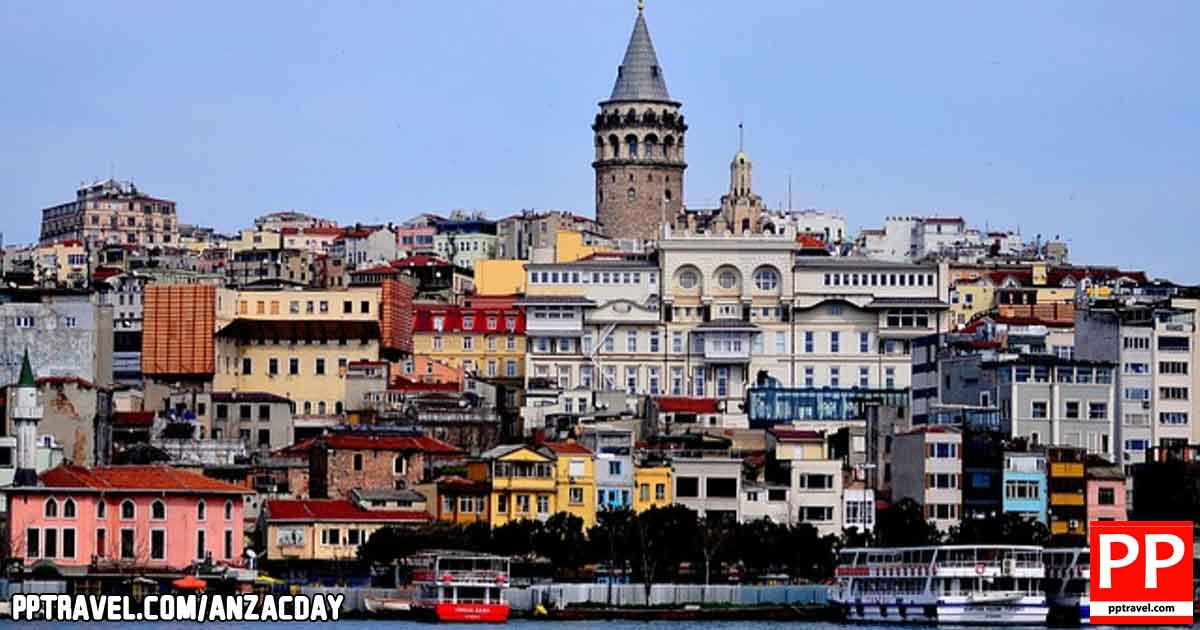 The focal point of lively Galata is the 14th-century Galata Tower, which has expansive views of the Bosphorus from its balcony.