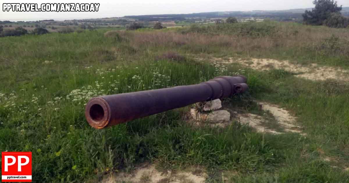 Anzac Day Gallipoli Canon