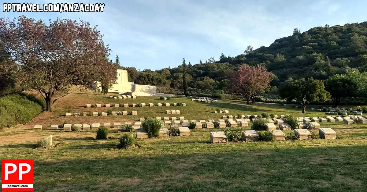 Anzac Day Gallipoli Commonwealth cemetery
