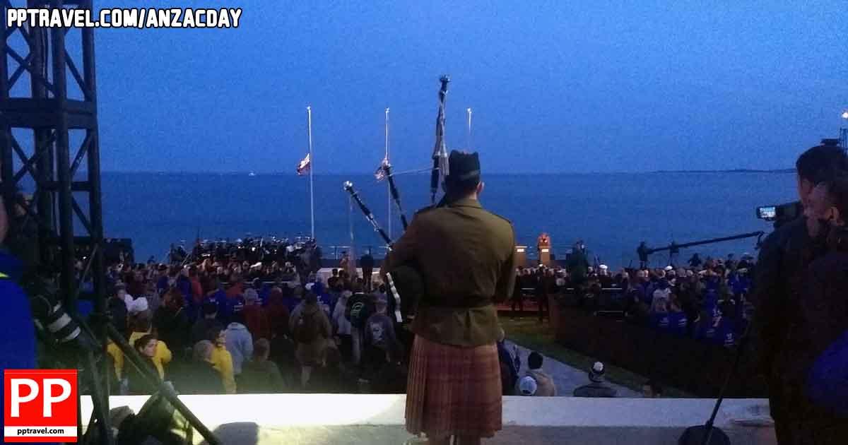Anzac Day Gallipoli dawn service