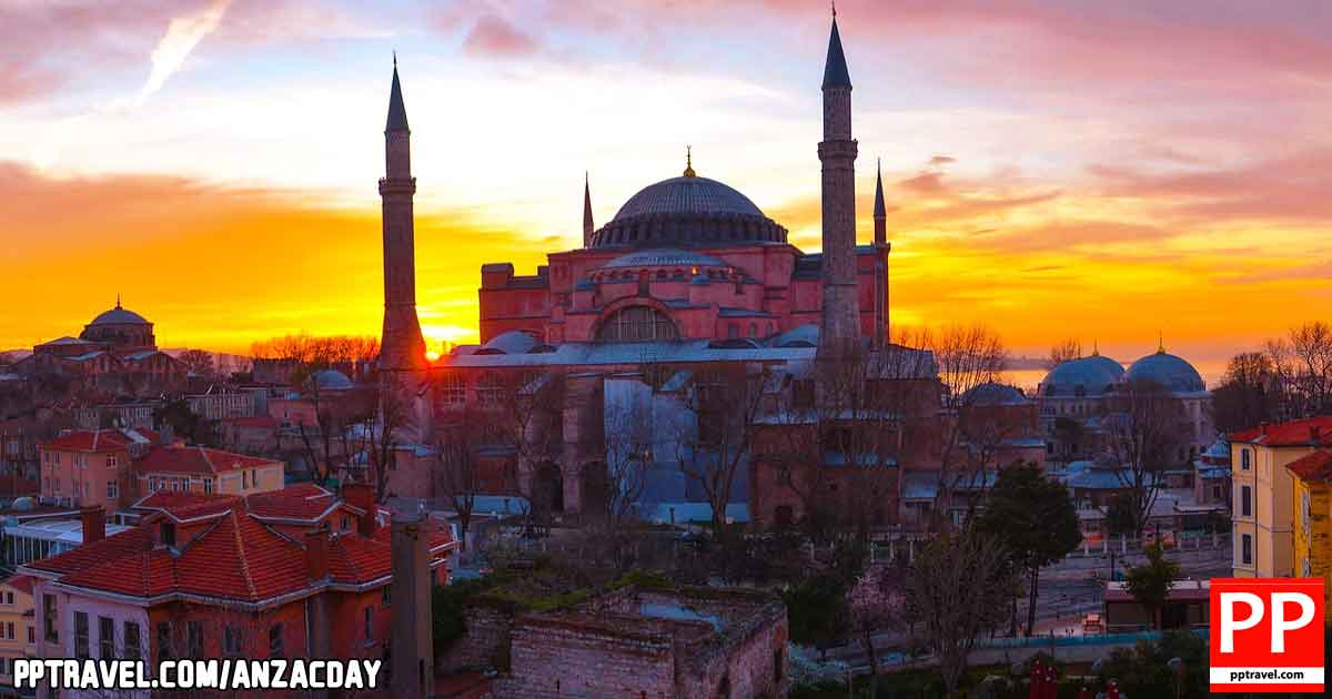 Hagia Sophia is the former Greek Orthodox Christian patriarchal cathedral, later an Ottoman imperial mosque and now a museum in Istanbul.