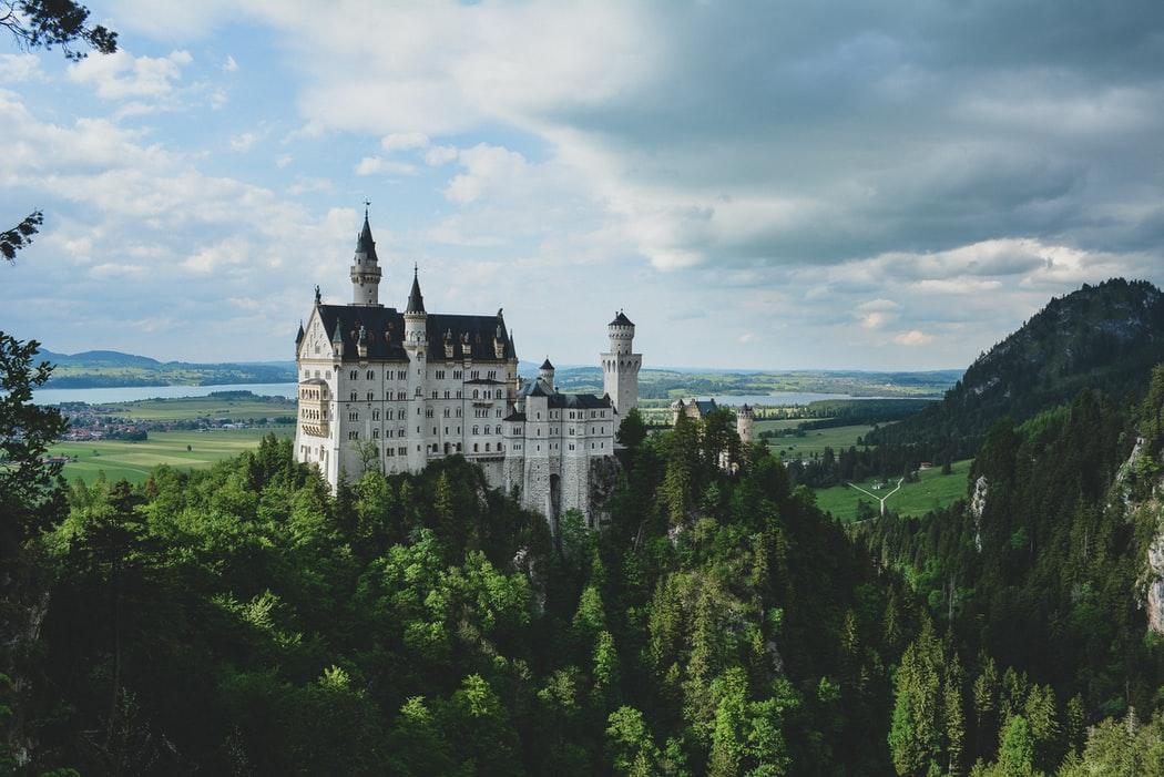 Famous Neuschwanstein Castle, Bavaria