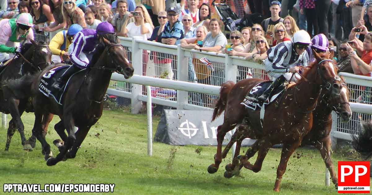 The Derby Stakes, officially the Investec Derby, popularly known as the Derby is a Group 1 flat horse race in England open to three-year-old colts and fillies.