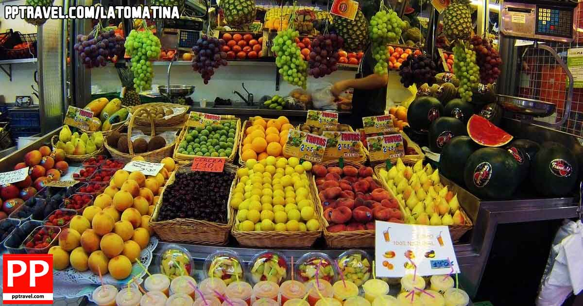Mix with the Valencia locals at the Central Markets