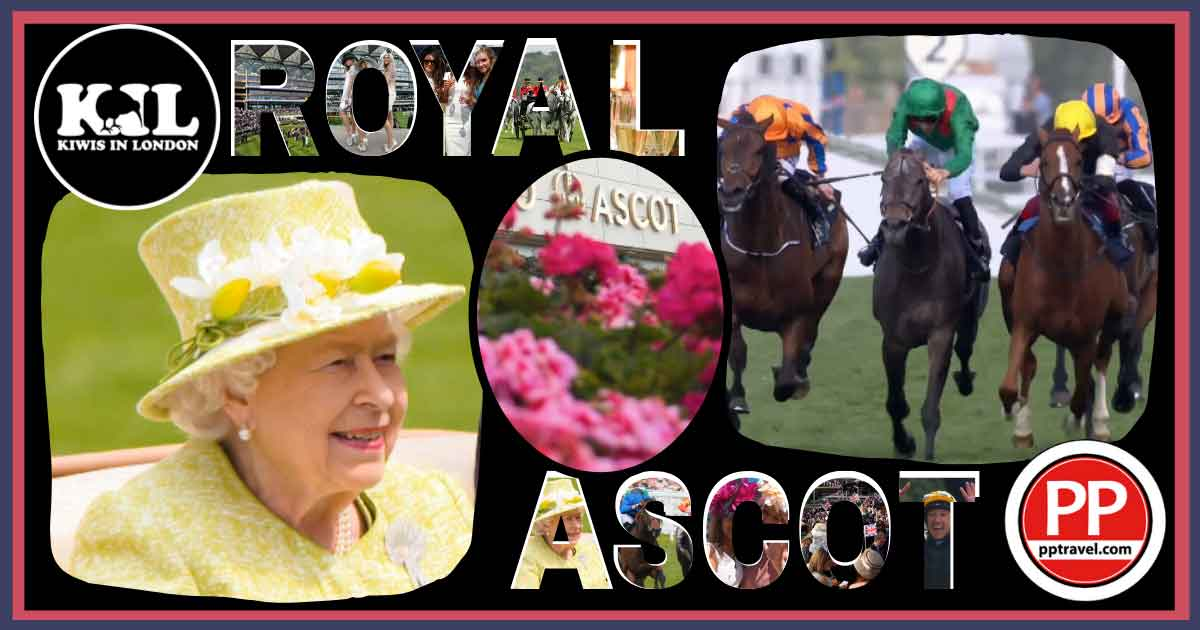 Kiwis in London with PP Travel at Royal Ascot